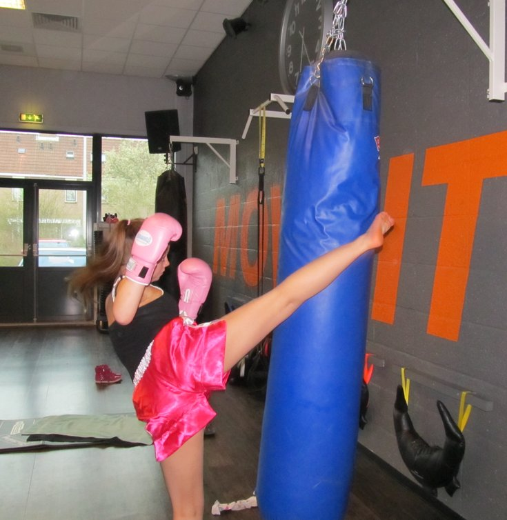 jefitcoach Ray PT kickbokstraining - jefitcoach.nl