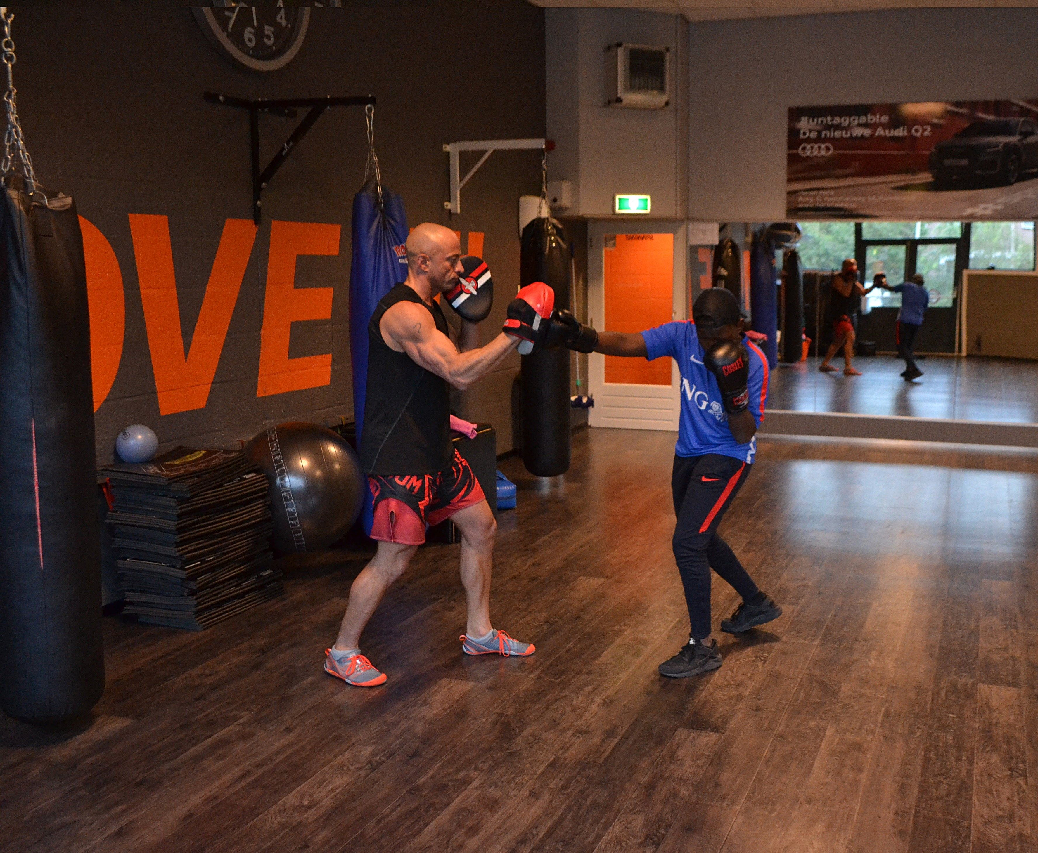 jefitcoach Ray PT kickboksen - jefitcoach.nl